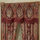 Ravenna Layered Valance Multi Warm 60 x 22