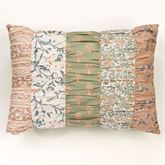 Ashland Tailored Pillow Multi Warm Rectangle