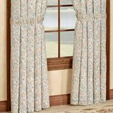 Ashland Tailored Curtain Pair White 84 x 84