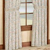Ashland Tailored Curtain Pair White 84 x 84