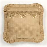 Napoleon Flanged Pillow Gold 20 Square