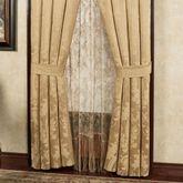 Napoleon Tailored Curtain Pair Gold