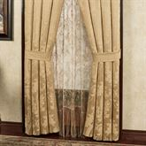 Napoleon Tailored Curtain Pair Gold