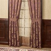 Josephine Tailored Curtain Pair Maroon