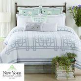 Garden Trellis Comforter Set White
