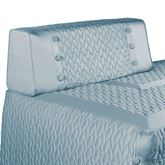 Silk Allure Bolster Pillow with Sham