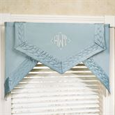 Silk Allure Cornice Valance Set 66 x 28