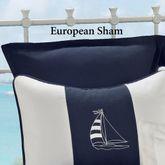 Regatta Flanged Tailored Sham Navy European