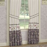 Ambrosia Tailored Curtain Pair Violet 84 x 84