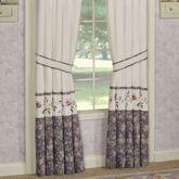 Ambrosia Tailored Curtain Pair Violet 84 x 84
