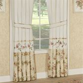 Honeysuckle Tailored Curtain Pair Buttercream 84 x 84