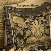 Lismore Tailored Sham Black European
