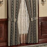 Fontainebleau Tailored Curtain Pair Taupe