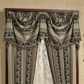 Fontainebleau Empire Valance Taupe 110 x 28