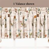 Natures Wonder Tailored Valance Desert Sand 58 x 13