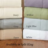 Hem Stitch Sheet Set Split King