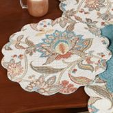 Lucianna Round Placemats Multi Cool Set of Four