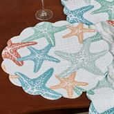Kalani Round Placemats Multi Pastel Set of Four