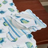 Island Bay Rectangle Placemats Multi Cool Set of Four