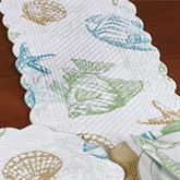 Reef Point Table Runner Multi Cool 14 x 51
