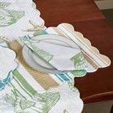 Reef Point Rectangle Placemats Multi Cool Set of Four