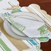 Reef Point Napkins Multi Cool Set of Four