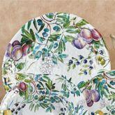 Tuscan Grove Round Serving Platter Multi Warm 18 Round