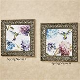 Spring Nectar Framed Wall Art Multi Cool Set of Two