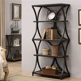 Carter Etagere Black Five Tier