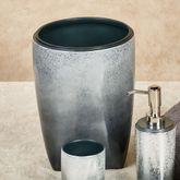 Landon Wastebasket Steel Blue