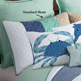 Macleay Island Quilted Sham Multi Cool Standard