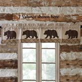 Wyatt Tailored Valance Multi Earth 72 x 16