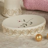 Bella Rose Soap Dish