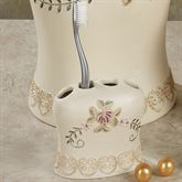Bella Rose Toothbrush Holder
