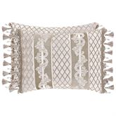 Bel Air Almond Reversible Tailored Pillow Rectangle