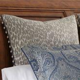 Preston Ball Tassel Leopard Design Sham Gray European