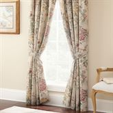 Bicarri Wide Tailored Curtain Pair Natural 100 x 84