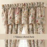 Bicarri Tailored Valance Natural 80 x 17