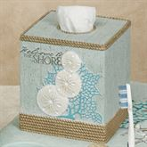 Beachcomber Tissue Cover Celadon