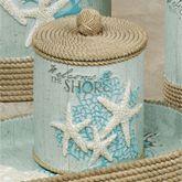 Beachcomber Covered Jar Celadon