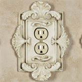 Florentine Single Outlet Old World White