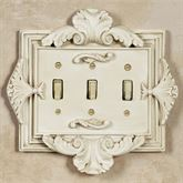Florentine Triple Switch Old World White