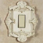 Florentine Single Dimmer Rocker Switch Old World White