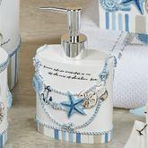 Island View Lotion Soap Dispenser Blue