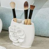 Keila Rose Brush Holder Off White