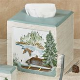 Lake House Tissue Cover Multi Cool
