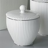 Odeon Covered Jar Ivory