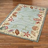 Ocean Surprise Area Rug Blue/Ivory