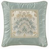 Warren Corded Pillow Aqua Mist 18 Square