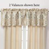 Warren Tailored Valance Light Cream 55 x 18